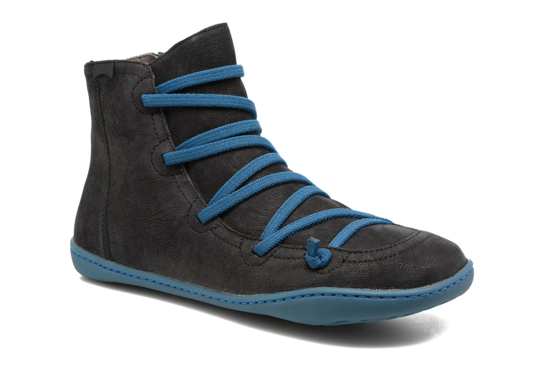 Grandes descuentos últimos zapatos Camper Peu Cami 46104 (Negro) - Botines  Descuento