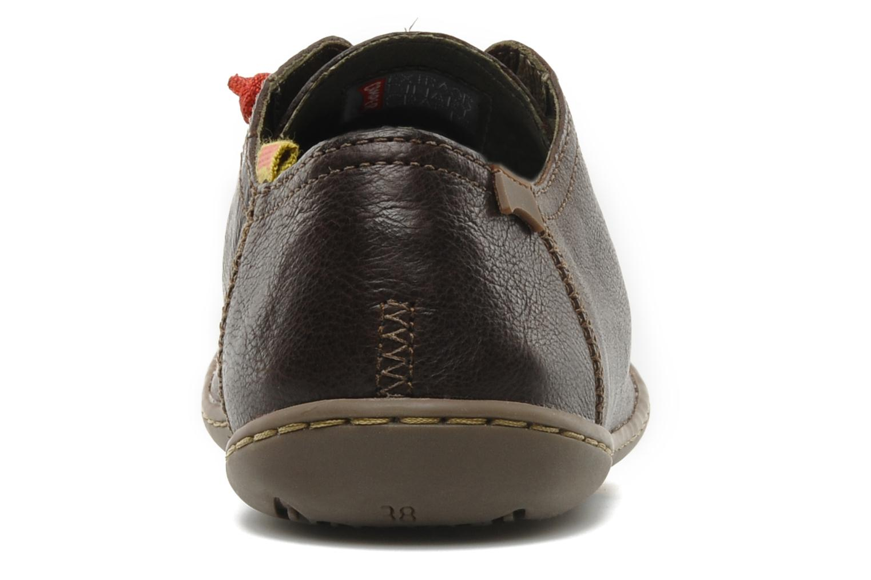 Sneakers Camper Peu Cami 20848 Bruin rechts