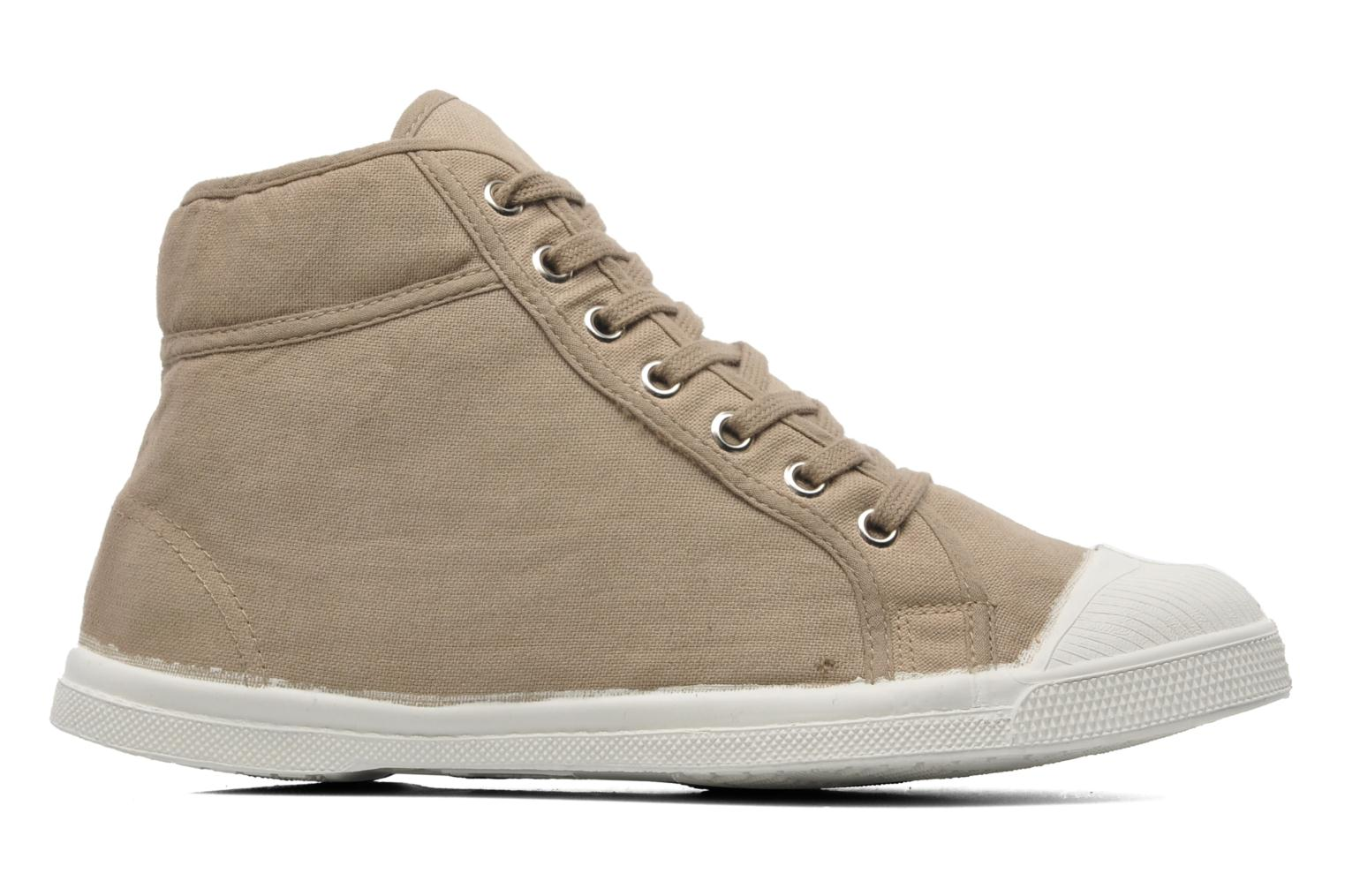 Trainers Bensimon Tennis Mid H Beige back view