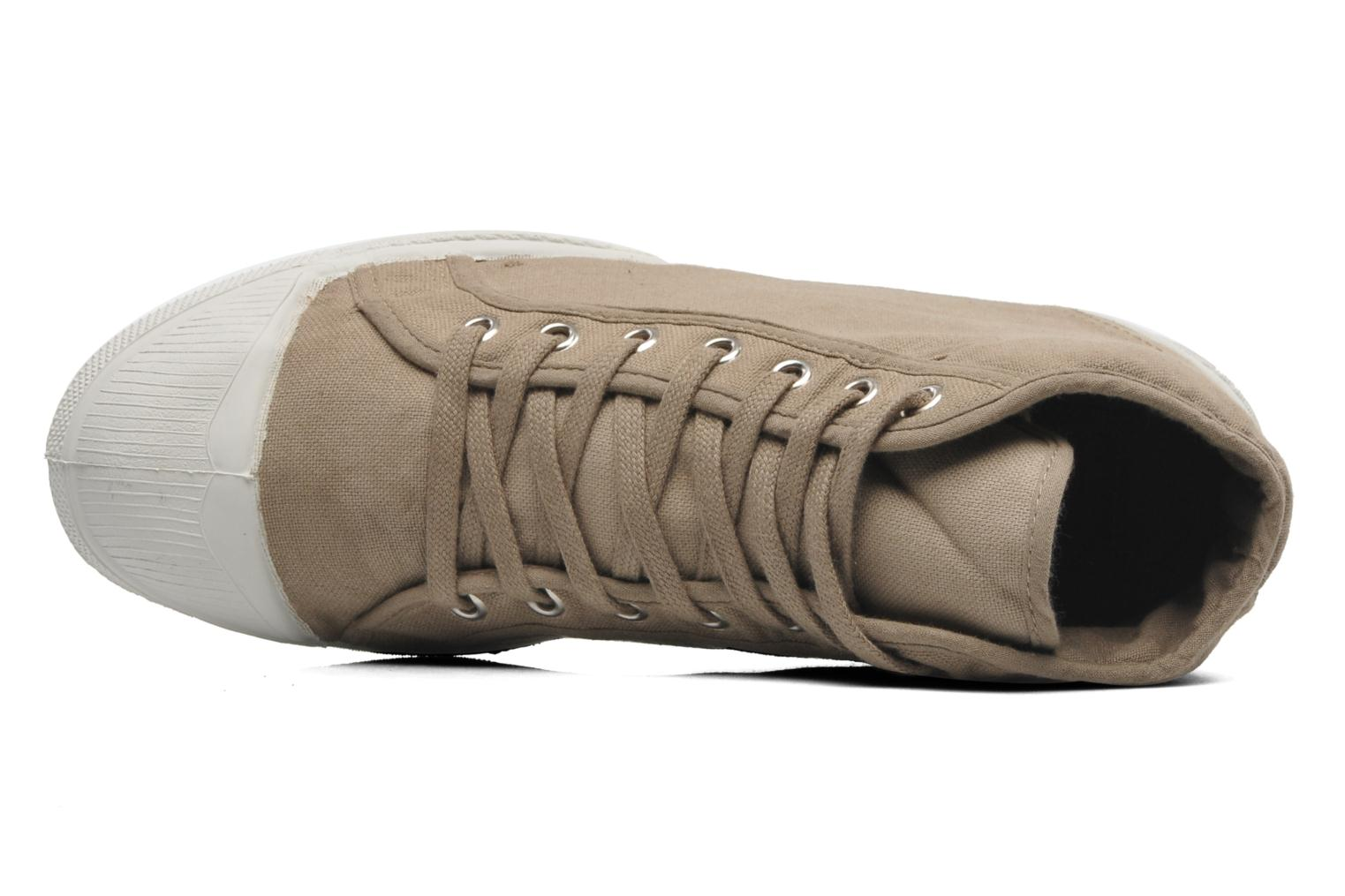 Sneakers Bensimon Tennis Mid H Beige immagine sinistra