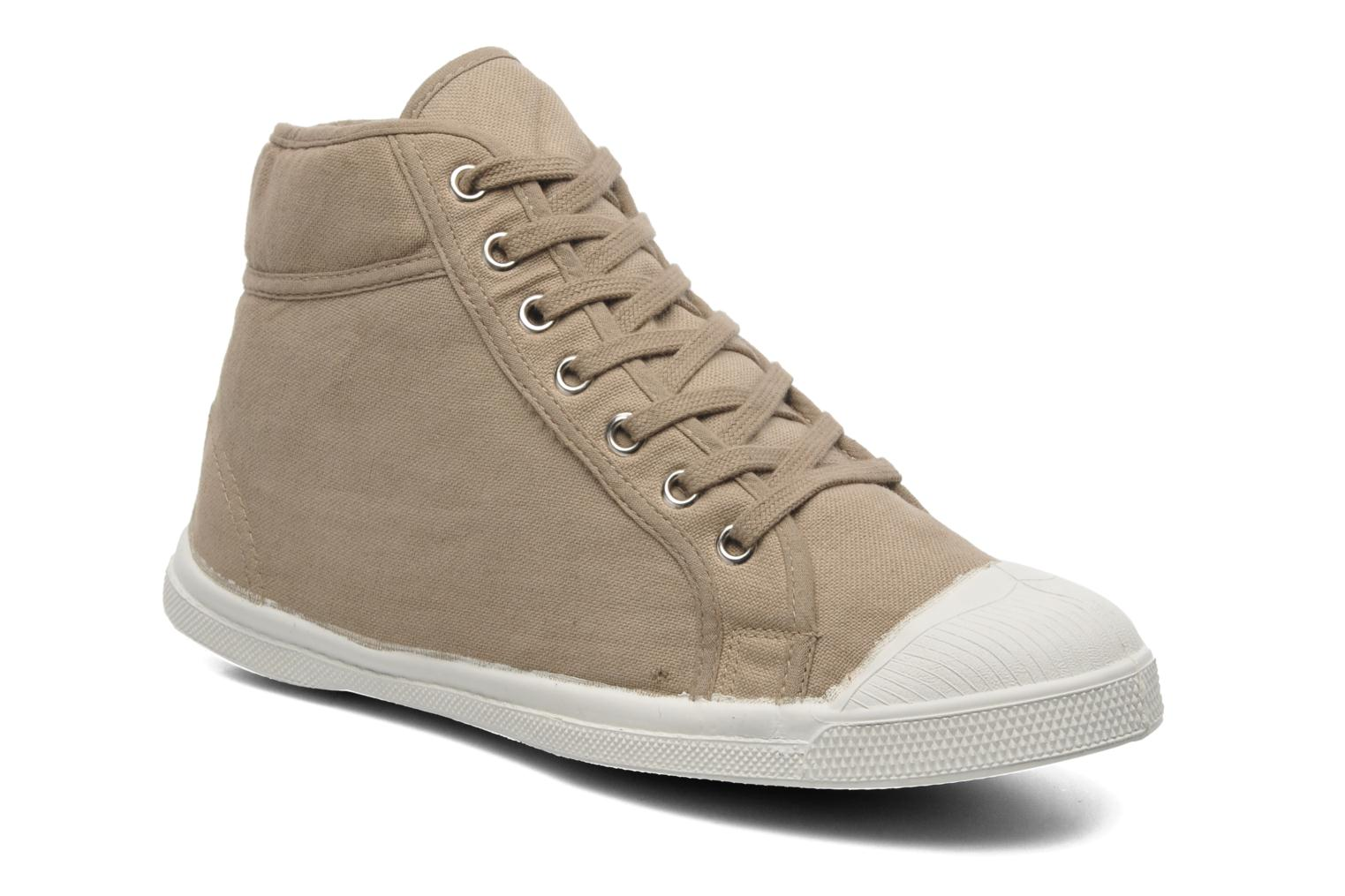 Trainers Bensimon Tennis Mid H Beige detailed view/ Pair view