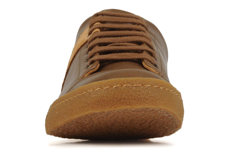 Sneaker Bensimon Tennis Harrys Cuir H braun schuhe getragen