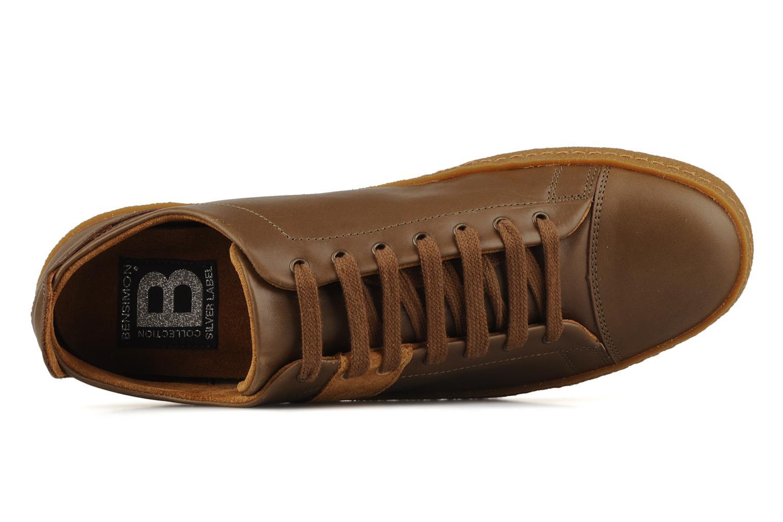 Sneakers Bensimon Tennis Harrys Cuir H Bruin links