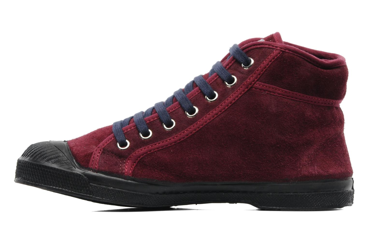 Tennis Mid Suede F Bordeaux