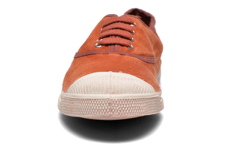 Baskets Bensimon Tennis Vintage F Marron vue portées chaussures
