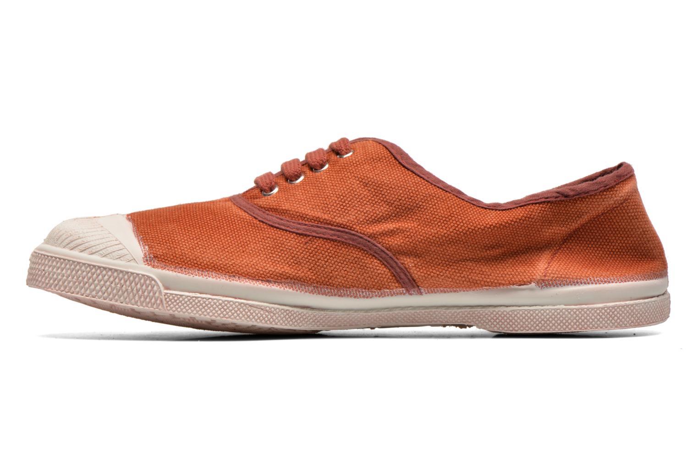 Sneakers Bensimon Tennis Vintage F Bruin voorkant