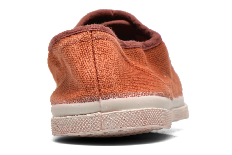 Sneakers Bensimon Tennis Vintage F Bruin rechts