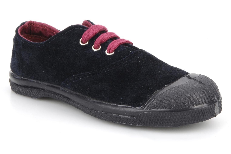 Sneakers Bensimon Tennis Suede E Blauw detail