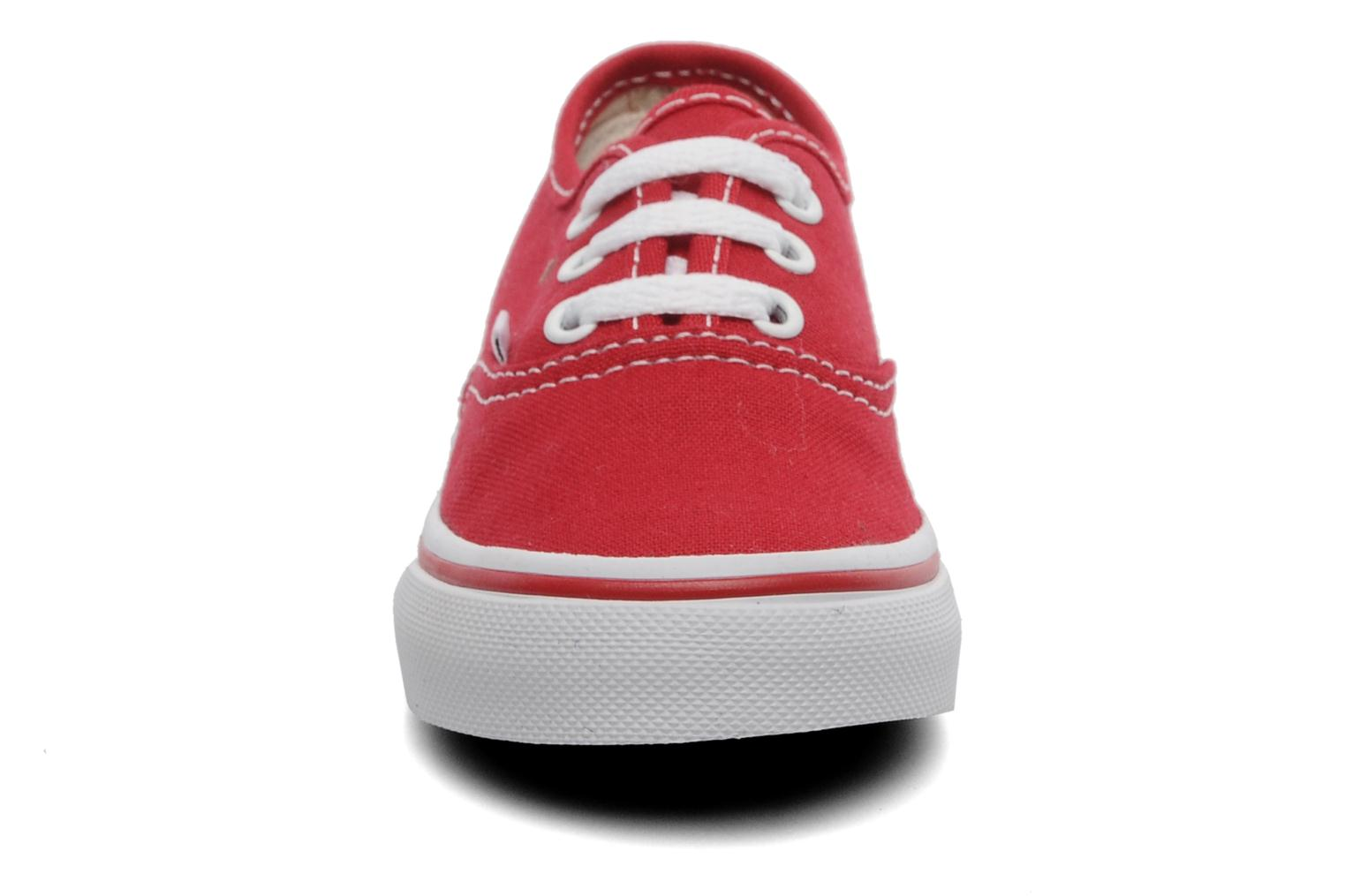 Sneakers Vans Authentic BB Rood model