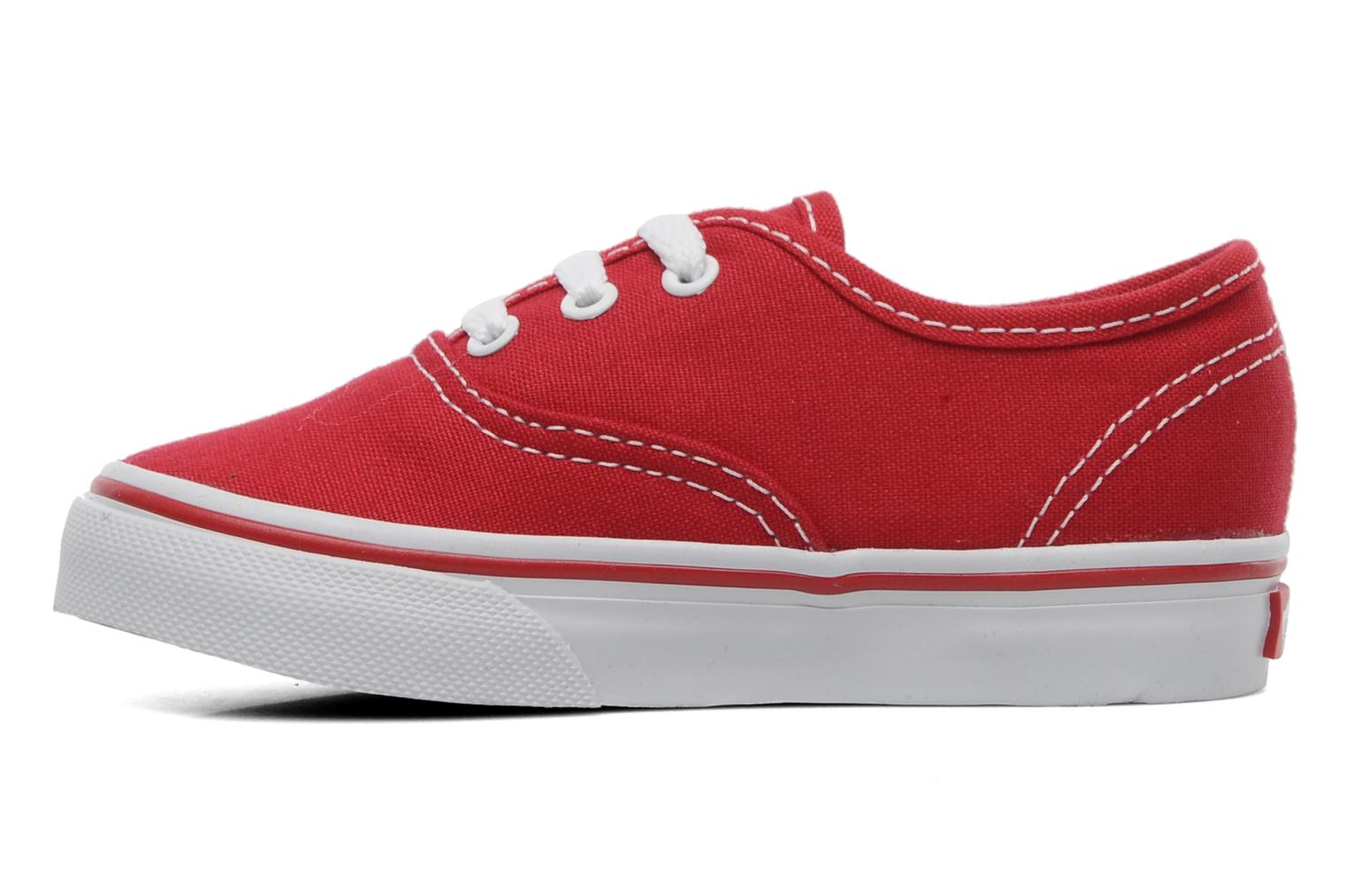 Baskets Vans Authentic BB Rouge vue face