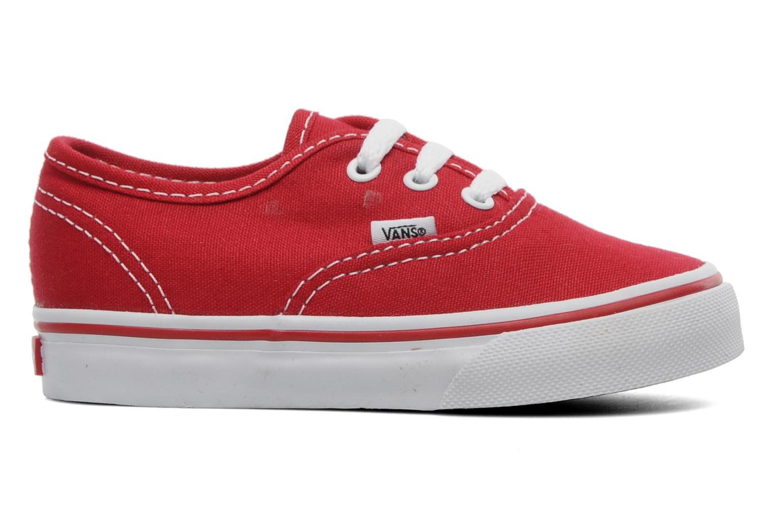 Baskets Vans Authentic BB Rouge vue derrière