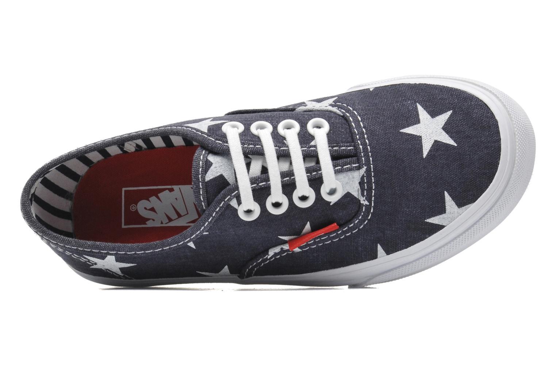 Sneakers Vans Authentic BB Blauw links