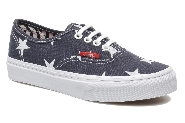 Sneakers Vans Authentic BB Blauw detail