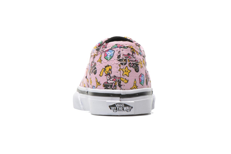 Sneakers Vans Authentic BB Roze rechts