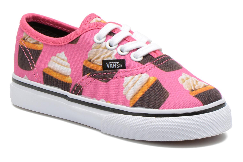 Sneakers Vans Authentic BB Roze detail
