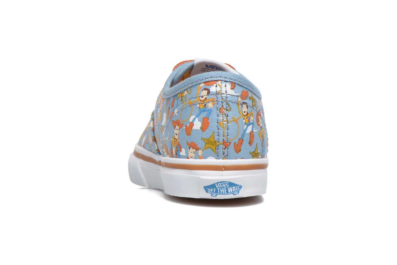 Sneakers Vans Authentic BB Blauw rechts