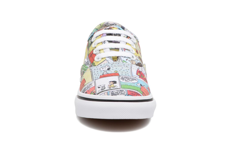 Baskets Vans Authentic BB Multicolore vue portées chaussures