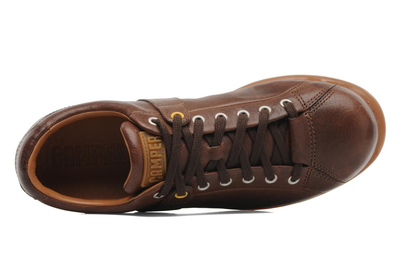 Trainers Camper Pelotas Ariel 17408 Brown view from the left