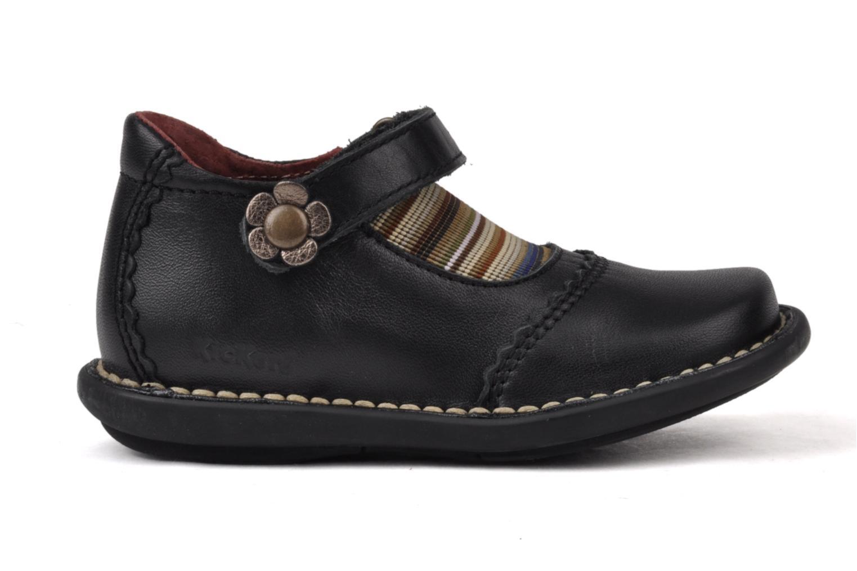 Chaussures à scratch Kickers Makup Noir vue derrière