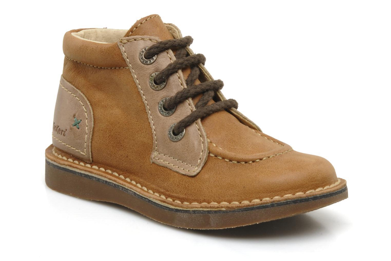 Stiefeletten & Boots Kickers World braun detaillierte ansicht/modell
