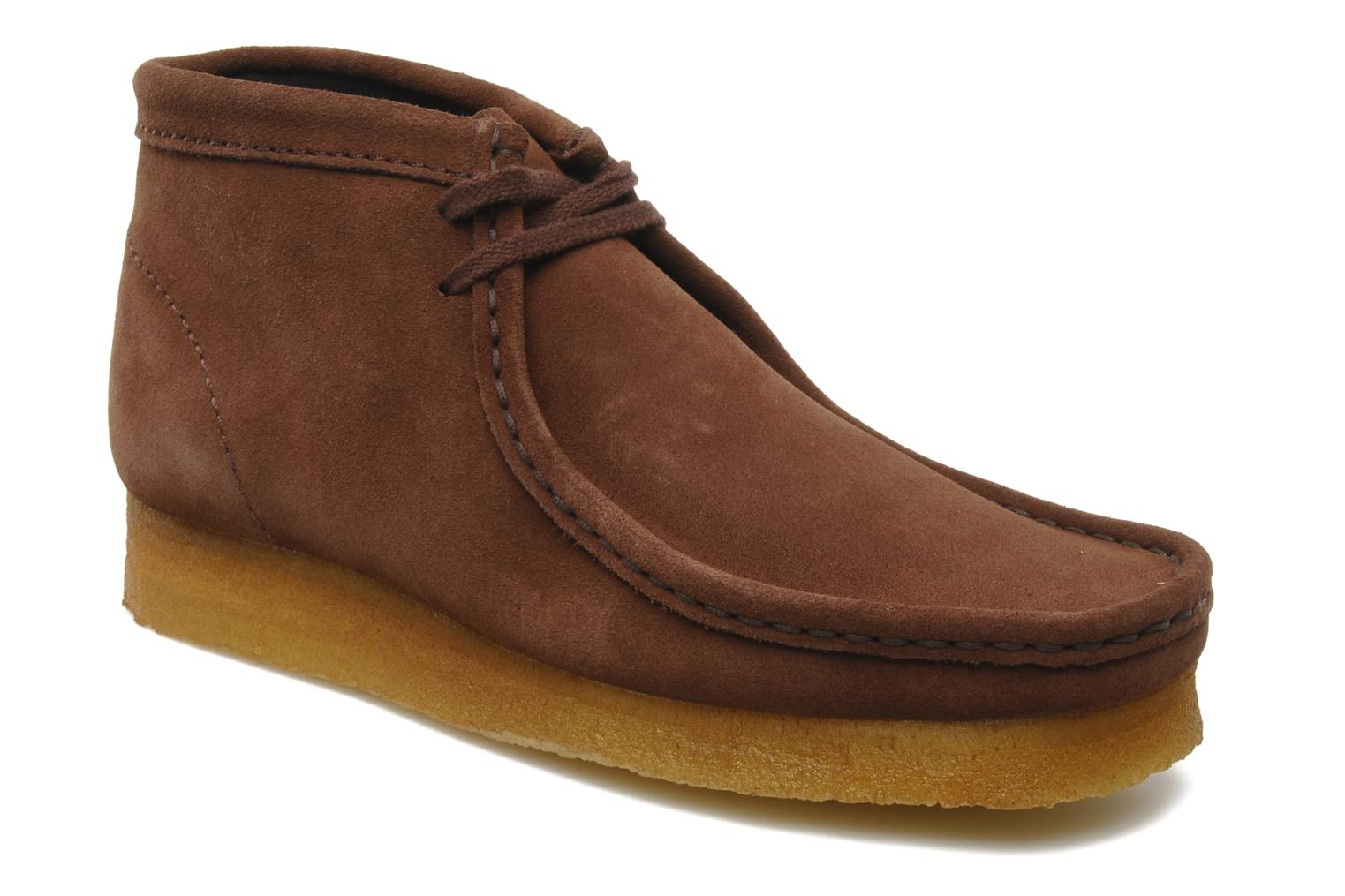 Clarks Wallabee Boot Sde Beige - Chaussures Boot Homme