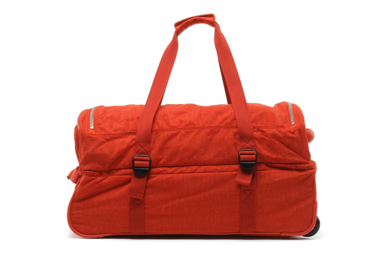 Reisegepäck Kipling Teagan M rot ansicht von vorne