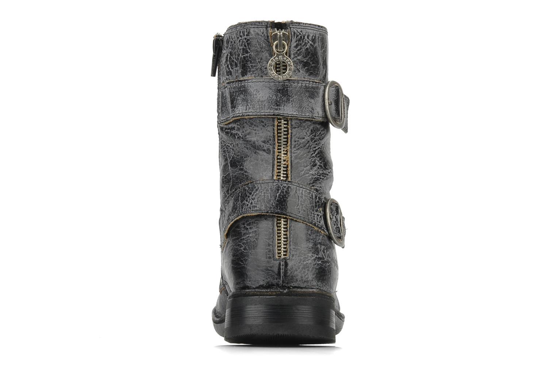 Bottines et boots Kickers Rocket Noir vue droite