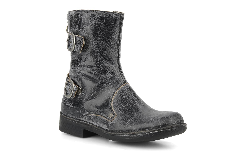 Bottines et boots Kickers Rocket Noir vue détail/paire