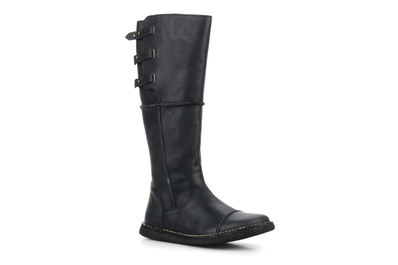 Stiefel Kickers Olibotte schwarz detaillierte ansicht/modell