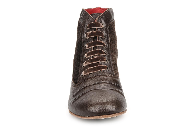 Stiefeletten & Boots Kickers Ginger braun schuhe getragen