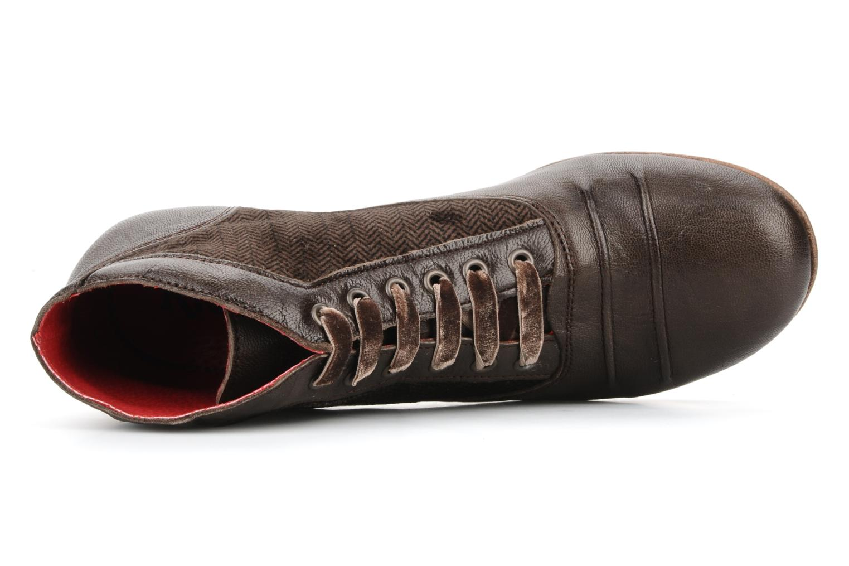 Stiefeletten & Boots Kickers Ginger braun ansicht von links