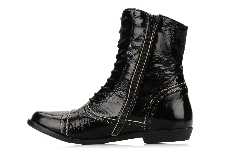 Bottines et boots Kickers Edwin Noir vue face