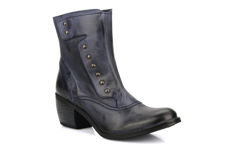 Bottines et boots Kickers Utah Bleu vue détail/paire