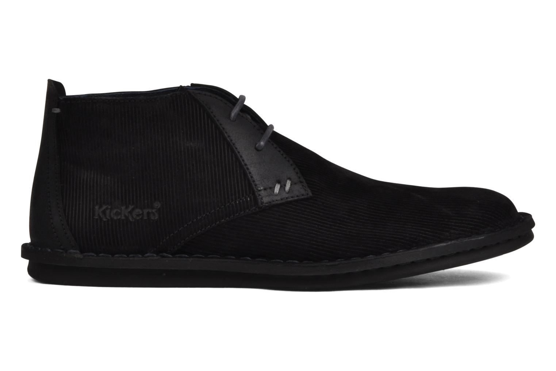 Chaussures à lacets Kickers Magnok Noir vue derrière