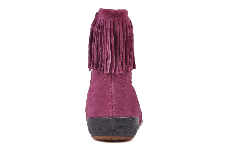 Bottines et boots Naturino Katel Rose vue droite