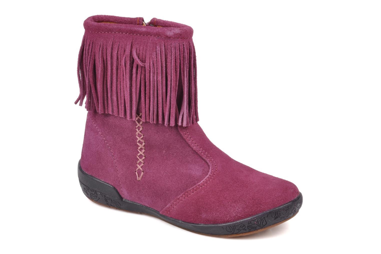 Boots en enkellaarsjes Naturino Katel Roze detail