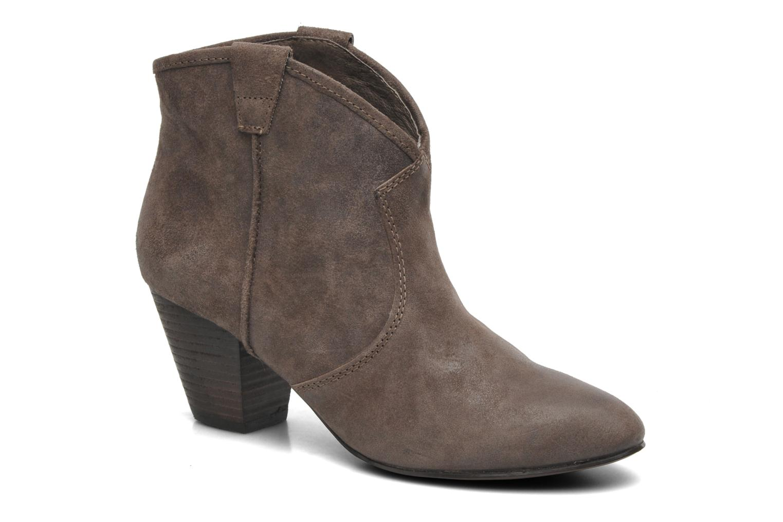 Bottines et boots Ash Jalouse Marron vue détail/paire