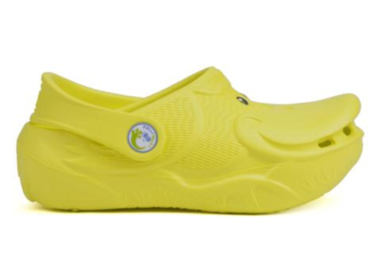Sandals Polliwalks Léonard Le Canard Yellow back view