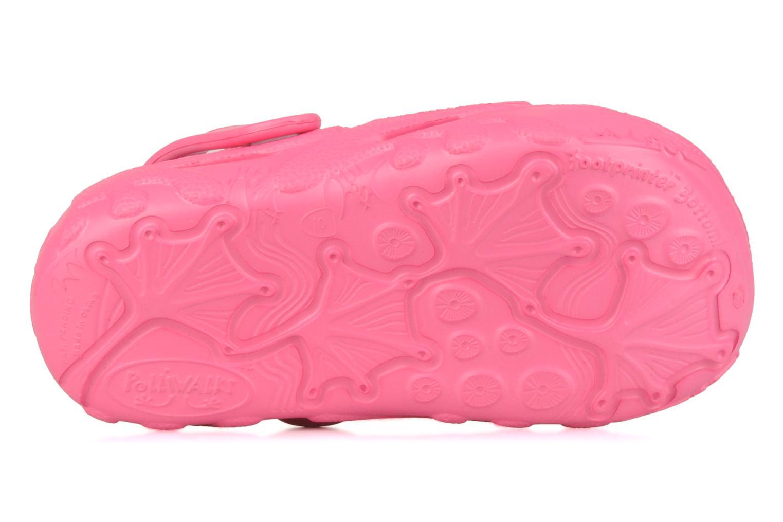 Sandalen Polliwalks Bilbouille La Grenouille rosa ansicht von oben