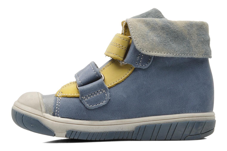 Velcro shoes Babybotte Acteur Blue front view
