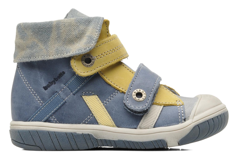 Velcro shoes Babybotte Acteur Blue back view