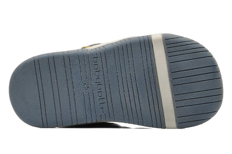 Chaussures à scratch Babybotte Acteur Bleu vue haut