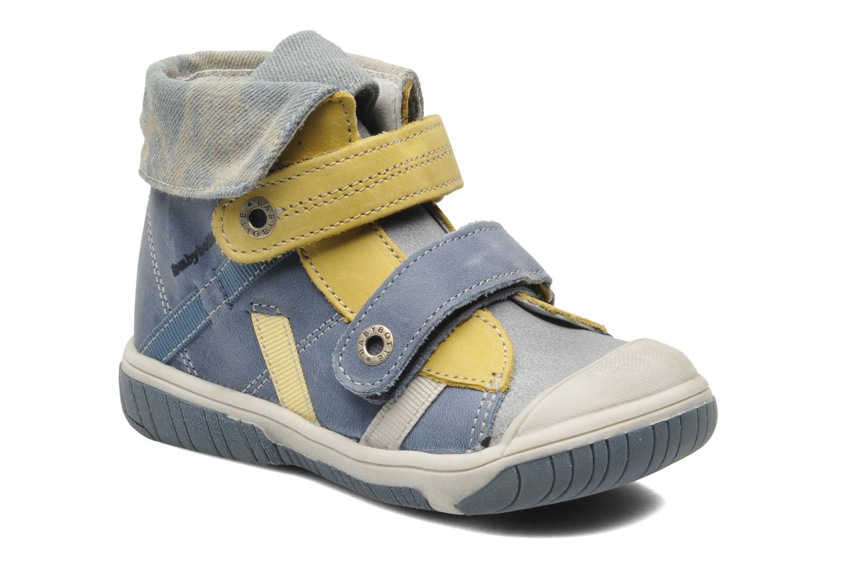 Velcro shoes Babybotte Acteur Blue detailed view/ Pair view