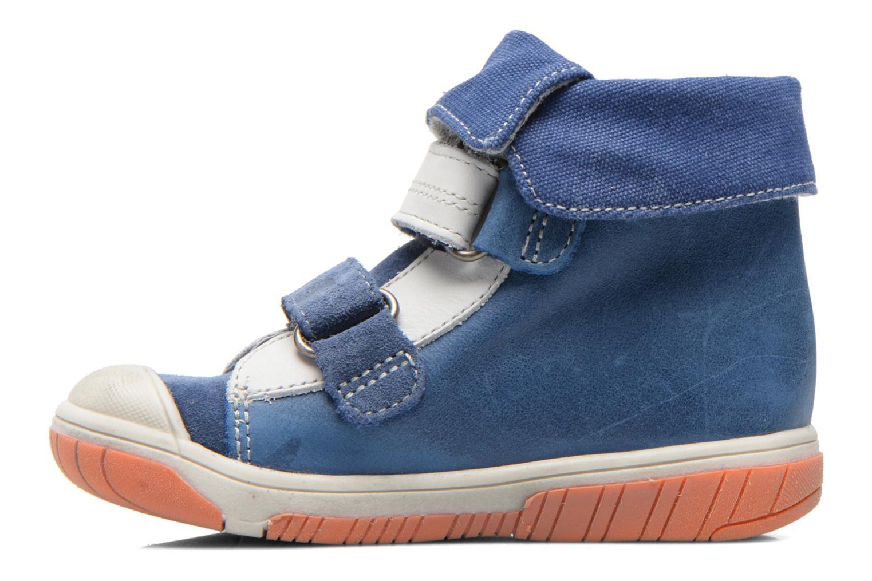 Chaussures à scratch Babybotte Acteur Bleu vue face