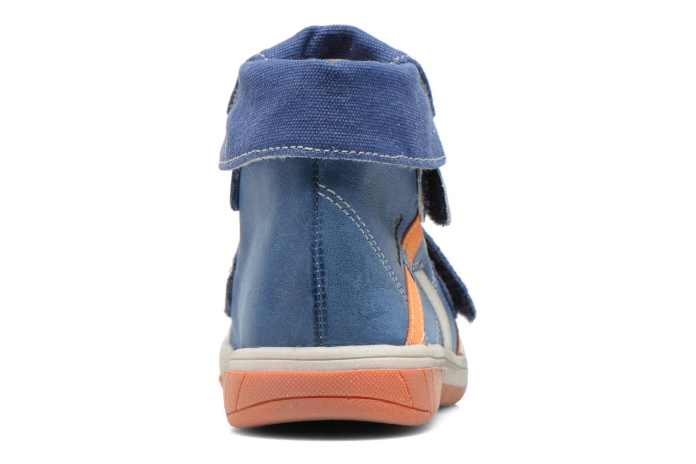 Chaussures à scratch Babybotte Acteur Bleu vue droite