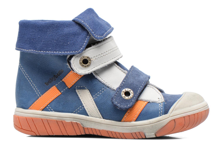 Chaussures à scratch Babybotte Acteur Bleu vue derrière