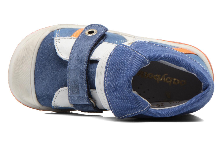 Chaussures à scratch Babybotte Acteur Bleu vue gauche