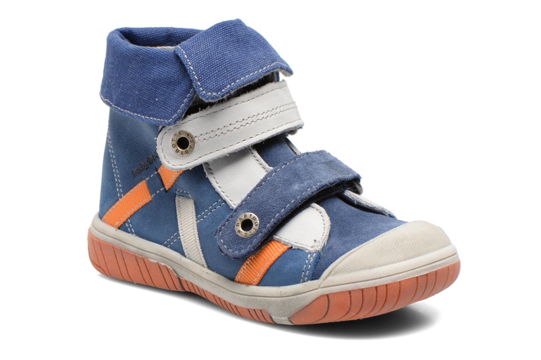 Chaussures à scratch Babybotte Acteur Bleu vue détail/paire