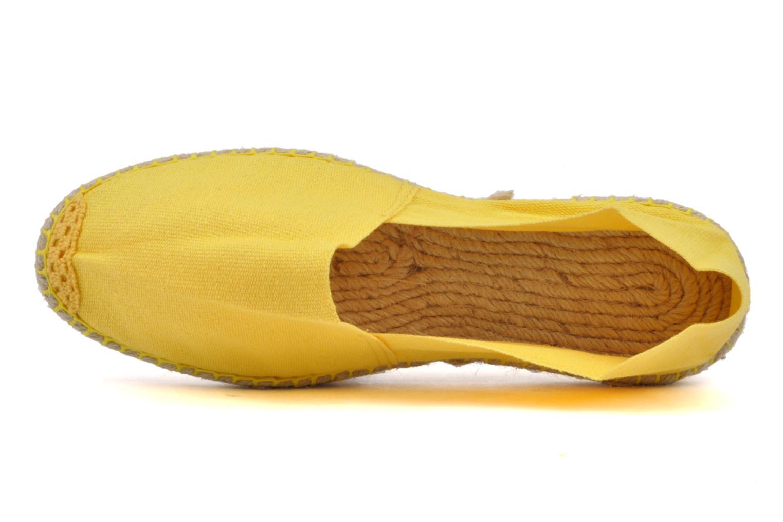 Espadrilles La maison de l'espadrille Sabline F gelb ansicht von links