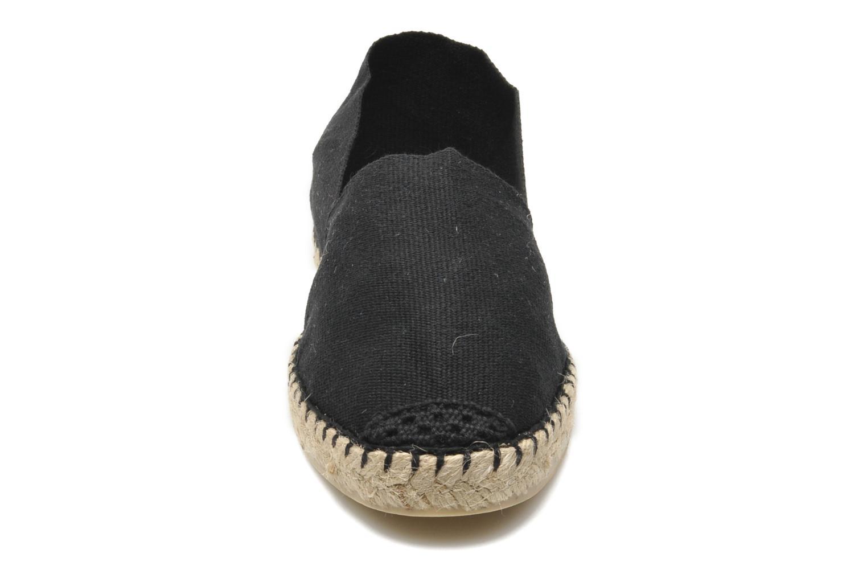 Espadrilles La maison de l'espadrille Sabline F Noir vue portées chaussures
